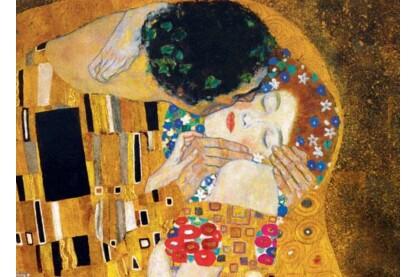 EuroGraphics 6000-0142 - The Kiss, Klimt - Fine Art Collection - 1000 db-os puzzle