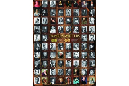 EuroGraphics 6000-0249 - Famous Writers - 1000 db-os puzzle