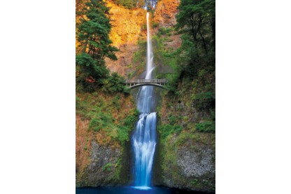 EuroGraphics 6000-0546 - Multnomah Falls, Oregon - 1000 db-os puzzle
