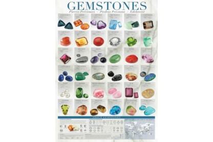 EuroGraphics 6000-0582 - Gemstones - 1000 db-os puzzle