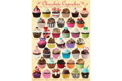 EuroGraphics 6000-0587 - Chocolate Cupcakes - 1000 db-os puzzle