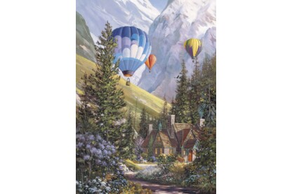 EuroGraphics 6000-0630 - Soaring with Eagles, Douglas R. Laird - 1000 db-os puzzle