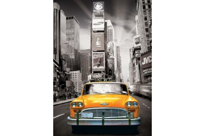 EuroGraphics 6000-0657 - New York City, Yellow Cab - 1000 db-os puzzle