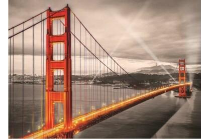 EuroGraphics 6000-0663 - San Francisco, Golden Gate Bridge - 1000 db-os puzzle