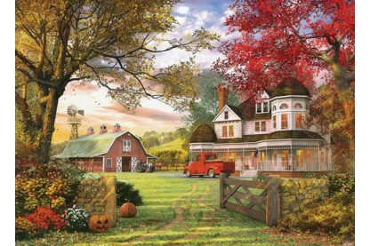 EuroGraphics 6000-0694 - Old Pumpkin Farm - 1000 db-os puzzle