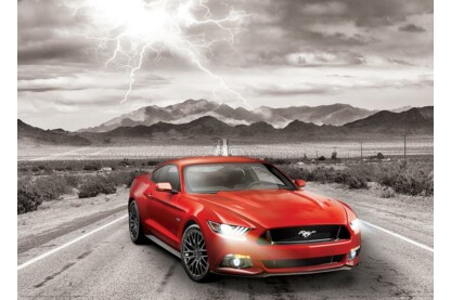 EuroGraphics 6000-0702 - 2015 Ford Mustang GT - 1000 db-os puzzle
