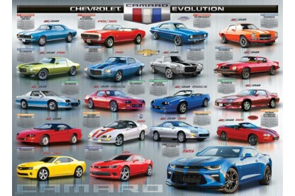 EuroGraphics 6000-0733 - Chevrolet Camaro Evolution - 1000 db-os puzzle