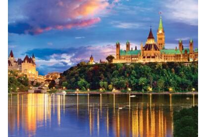 EuroGraphics 6000-0739 - Ottawa, Parlament Hill - 1000 db-os puzzle