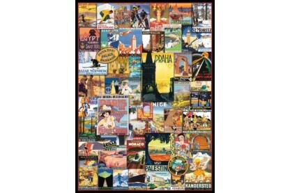 EuroGraphics 6000-0755 - Travel Around the World - 1000 db-os puzzle