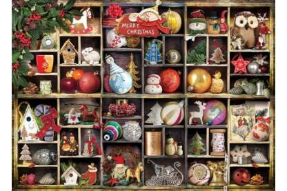EuroGraphics 6000-0759 - Christmas Ornaments - 1000 db-os puzzle