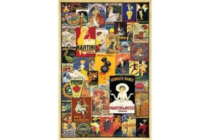 EuroGraphics 6000-0769 - Vintage Posters - 1000 db-os puzzle