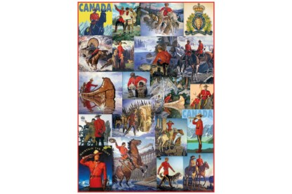 EuroGraphics 6000-0777 - Vintage Art Collage - 1000 db-os puzzle