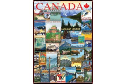 EuroGraphics 6000-0778 - Travel  Canada - 1000 db-os puzzle