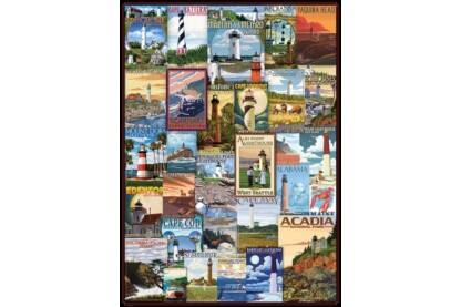 EuroGraphics 6000-0779 - Lighthouses - 1000 db-os puzzle