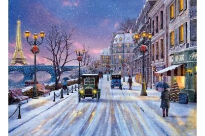 EuroGraphics 6000-0785 - Christmas Eve in Paris, Dominic Davison - 1000 db-os puzzle