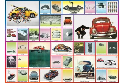 EuroGraphics 6000-0800 - The VW Beetle - 1000 db-os puzzle