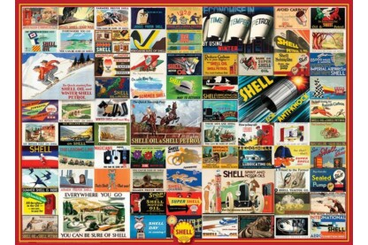 EuroGraphics 6000-0804 - Shell Advertising Collection - 1000 db-os puzzle