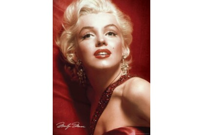 EuroGraphics 6000-0812 - Marilyn Monroe - Red Portrait - 1000 db-os puzzle