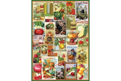 EuroGraphics 6000-0817 - Vegetables - 1000 db-os puzzle