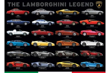 EuroGraphics 6000-0822 - The Lamborghini Legend - 1000 db-os puzzle