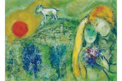 EuroGraphics 6000-0848 - The Lovers of Vence, Chagall - 1000 db-os puzzle