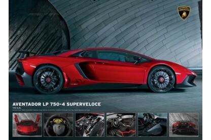EuroGraphics 6000-0871 - Lamborghini - 1000 db-os puzzle