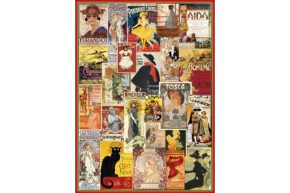 EuroGraphics 6000-0935 - Theatre & Opera - 1000 db-os puzzle