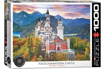 EuroGraphics 6000-0946 - Neuschwanstein Castle, Bavaria, Germany - 1000 db-os puzzle
