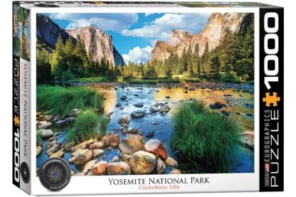 EuroGraphics 6000-0947 - Yosemite National Park, California, USA - 1000 db-os puzzle
