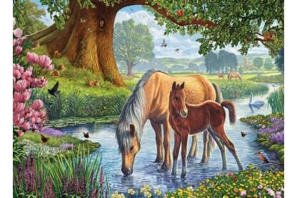 EuroGraphics 6000-0976 - The Fell Ponies, Steve Crisp - 1000 db-os puzzle