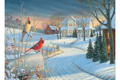EuroGraphics 6000-0981 - Country Cardinals, Sam Timm - 1000 db-os puzzle