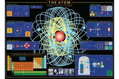 EuroGraphics 6000-1002 - The Atom - 1000 db-os puzzle