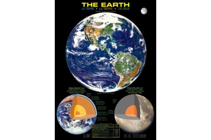 EuroGraphics 6000-1003 - The Earth - 1000 db-os puzzle
