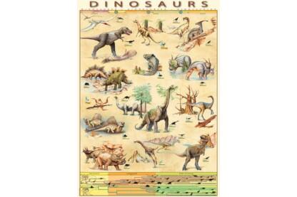EuroGraphics 6000-1005 - Dinosaurs - 1000 db-os puzzle