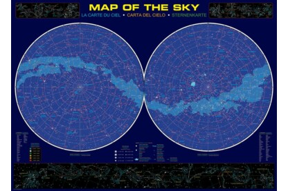 EuroGraphics 6000-1010 - Map of the Sky - 1000 db-os puzzle