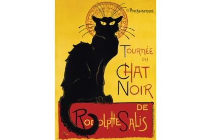 EuroGraphics 6000-1399 - Tournée du Chat Noir - 1000 db-os puzzle
