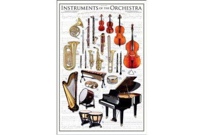 EuroGraphics 6000-1410 - Instruments of the Orchestra - 1000 db-os puzzle