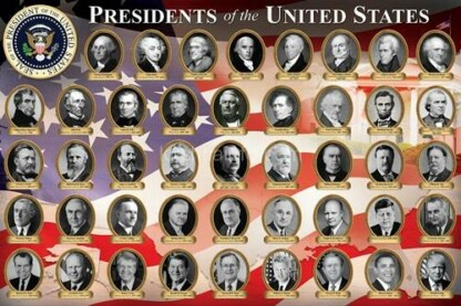 EuroGraphics 6000-1432 - Presidents of the United States - 1000 db-os puzzle