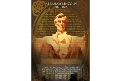 EuroGraphics 6000-1433 - Abraham Lincoln - 1000 db-os puzzle