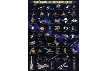 EuroGraphics 6000-2001 - Space Explorers - 1000 db-os puzzle