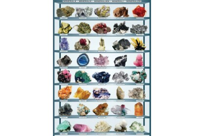 EuroGraphics 6000-2008 - Minerals - 1000 db-os puzzle