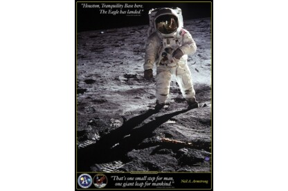 EuroGraphics 6000-4953 - Walk on the Moon - 1000 db-os puzzle