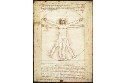 EuroGraphics 6000-5098 - Leonardo Da Vinci - Vitruvius Man - 1000 db-os puzzle