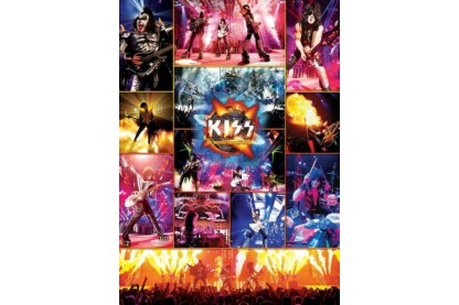 EuroGraphics 6000-5306 - Kiss - The Hottest Show on Earth - 1000 db-os puzzle