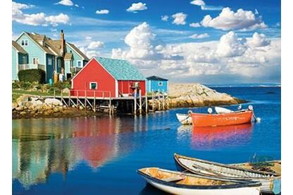 EuroGraphics 6000-5438 - Peggy's Cove, Nova Scotia - 1000 db-os puzzle