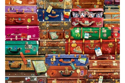 EuroGraphics 6000-5468 - Travel Suitcases - 1000 db-os puzzle
