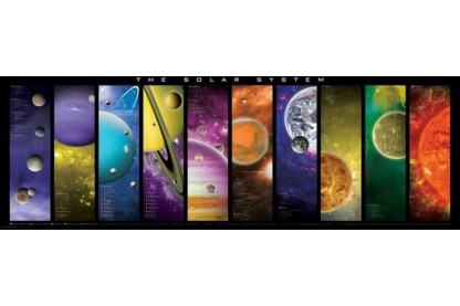 EuroGraphics 6010-0308 - Panoráma puzzle - The Solar System  - 1000 db-os puzzle