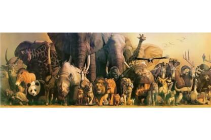 EuroGraphics 6010-4654 - Panoráma puzzle - Noah's Ark, Haruo Takino - 1000 db-os puzzle