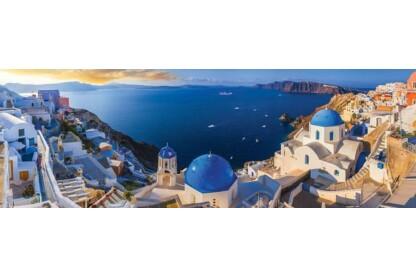 EuroGraphics 6010-5300 - Panoráma puzzle - AirPano - Santorini, Greece - 1000 db-os puzzle