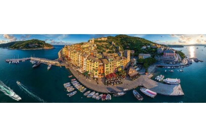 EuroGraphics 6010-5302 - Panoráma puzzle - AirPano - Porto Venere, Italy - 1000 db-os puzzle